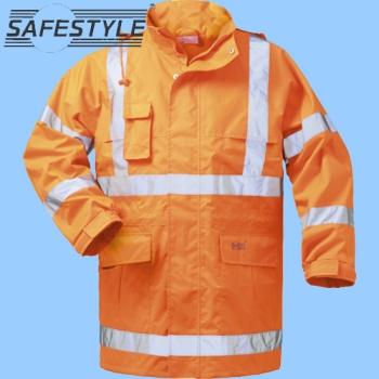 Safestyle Warnschutzparka Hinnerk Warnschutzjacke Gelb//Marine